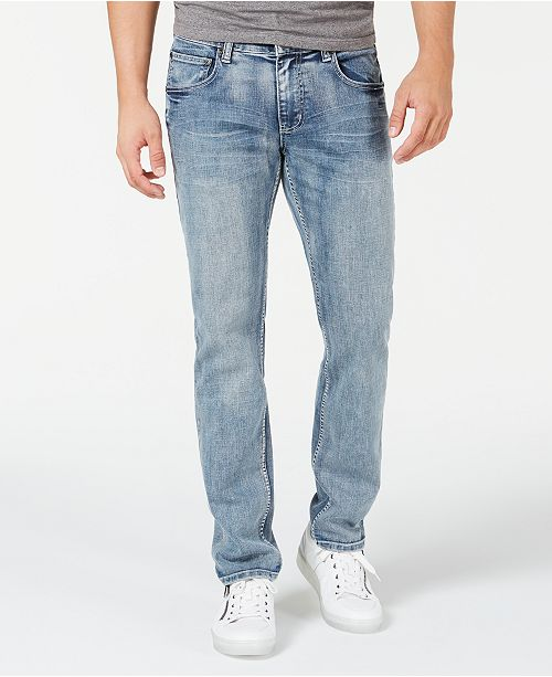 INC International Concepts INC Men's Gerald Slim, Straight Jeans, Created for Macy's