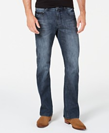 I.N.C. Men's Edwin Bootcut Jeans, Created for Macy's