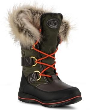 Women's Tundra Fur Classic Moc Toe Chukka Regular Fashion Boot Women's Shoes