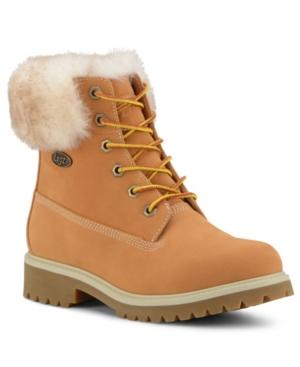 Women's Convoy Fur Classic Chukka Regular Fashion Boot Women's Shoes