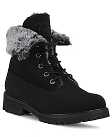 Women's Convoy Fold Fur Boot