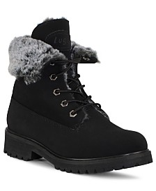 Lugz Women's Convoy Fold Fur Boot