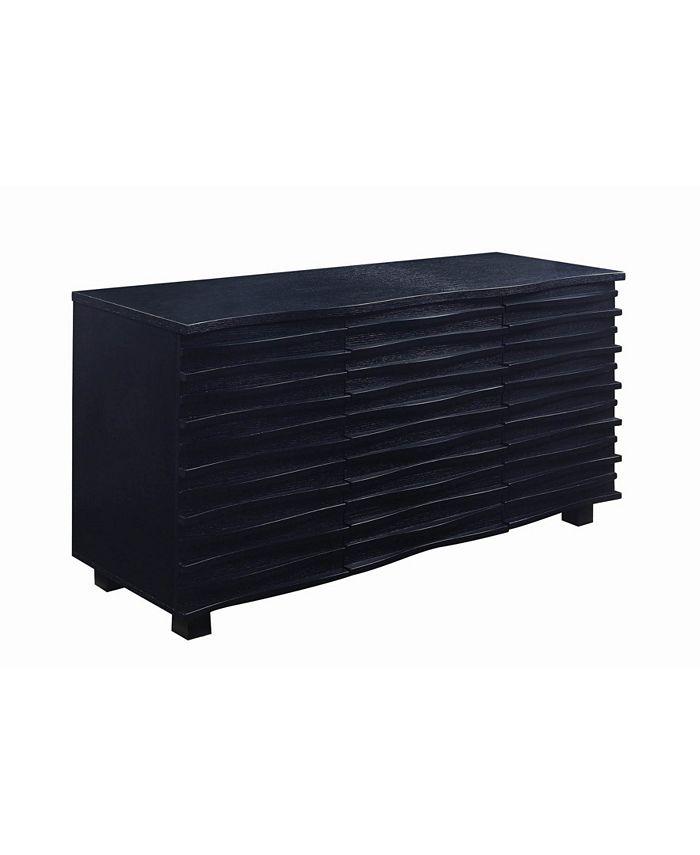 Coaster Home Furnishings - Stanton 3-drawer Server Black