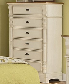 Oleta 6-Drawer Chest with Pilaster Detail