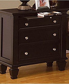 Sandy Beach 3-Drawer Nightstand