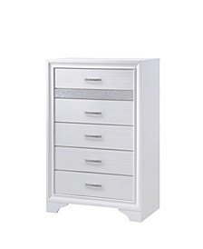 Miranda 5-Drawer Chest with Hidden Jewelry Tray