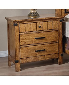 Brenner 3-Drawer Nightstand