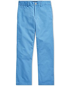 Big Boys Flat-Front Chino Pants