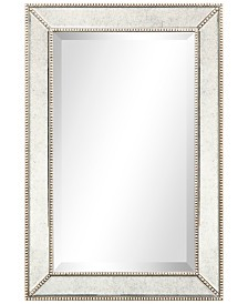"Empire Art Direct Solid Wood Frame Covered with Beveled Antique Mirror Panels - 20"" x 30"""