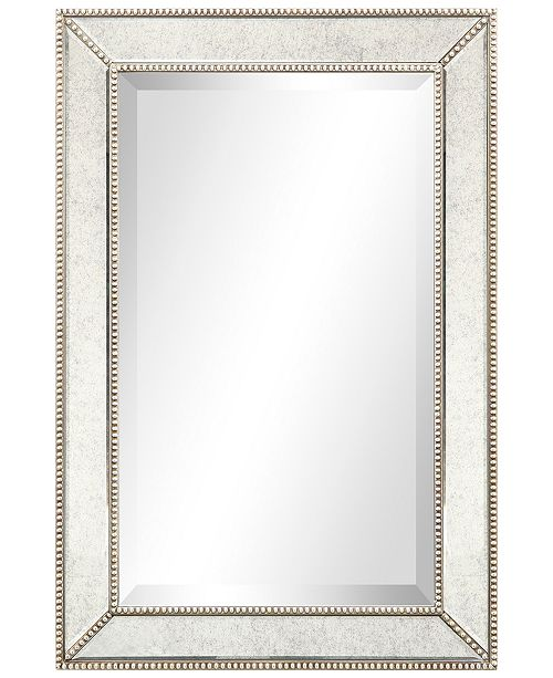 Solid Wood Frame Covered With Beveled Antique Mirror Panels 20 X 30