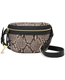 Fossil Brenna Leather Belt Bag