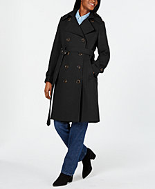 Michael Michael Kors Double-Breasted Belted Coat