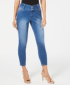 Double-Button Skinny Ankle Pants, Created for Macy's