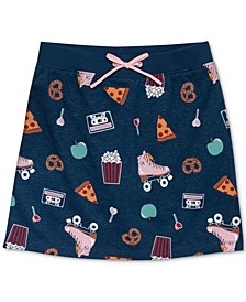 Big Girls Printed Skirt