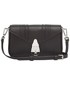 Calvin Klein Lock Leather Crossbody