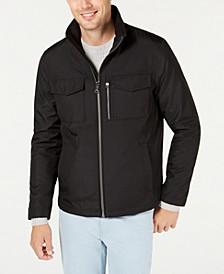 Men's Western Pocket Open Bottom Jacket