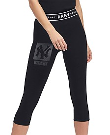 DKNY Women's New York Yankees Capri Leggings