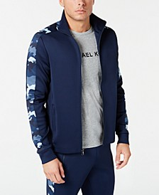 Men's Camo Stripe Track Jacket
