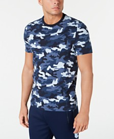 Michael Kors Men's Camo Print T-Shirt
