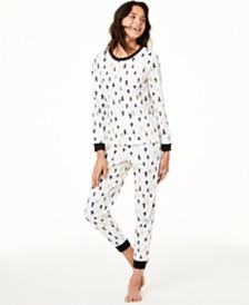 Matching Family Pajamas Kids Tree-Print Pajama Set, Created For Macy's
