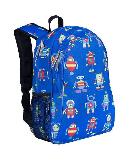 """Wildkin Robots 15"""" Backpack"""