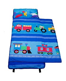Wildkin's Trains, Planes, Trucks Cotton Nap Mat