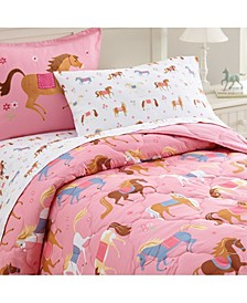 Horses 5 Pc Bed in a Bag - Twin