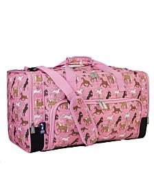 Wildkin Horses In Pink Weekender Duffel Bag