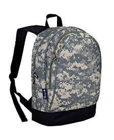 "Digital Camo 15"" Backpack"