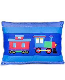 Trains, Planes, Trucks Pillow Sham