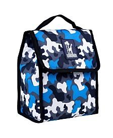 Wildkin Blue Camo Lunch Bag