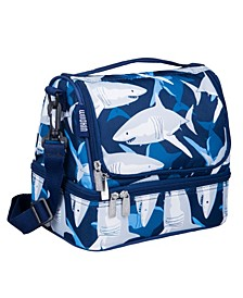Sharks Two Compartment Lunch Bag