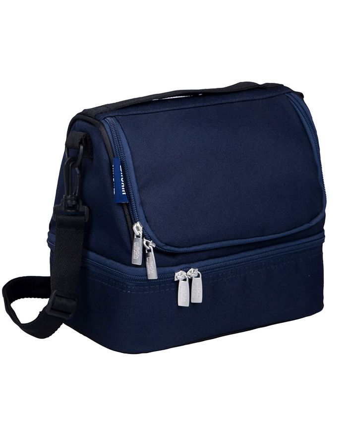 Wildkin - Whale Blue Two Compartment Lunch Bag