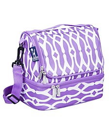 Wishbone Two Compartment Lunch Bag