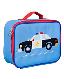 Police Car Embroidered Lunch Box