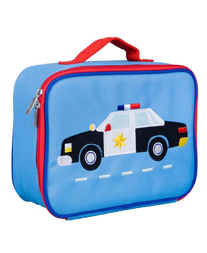 Wildkin - Police Car Embroidered Lunch Box