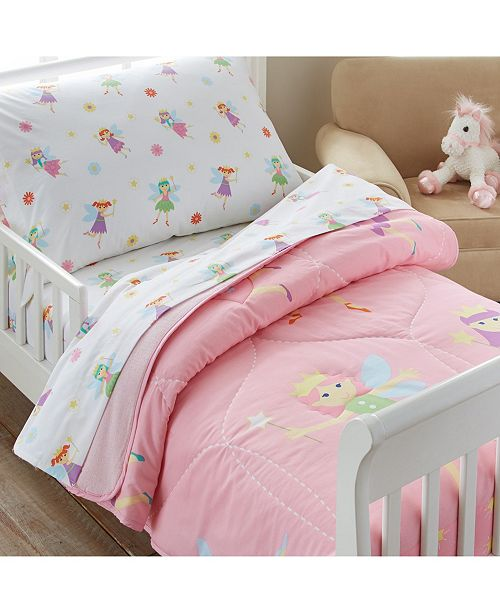 Wildkin Fairy Princess Toddler Lightweight Comforter