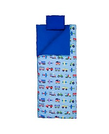 Wildkin Trains, Planes and Trucks Sleeping Bag