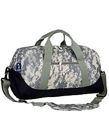 Digital Camo Overnighter Duffel Bag