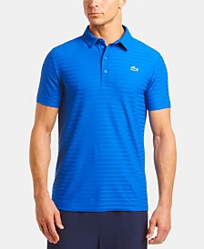 Lacoste Men's Ultra Dry Tech Micro Stripe Polo Shirt