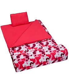 Wildkin Camo Pink Original Sleeping Bag
