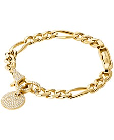 14k Gold-Plated Sterling Silver Mercer Link Chain Bracelet