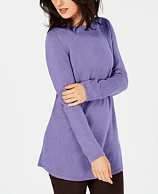 Solid Curved-Hem Tunic, Created for Macy's