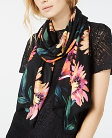 I.N.C. Brushed Flowers Pashmina, Created for Macy's