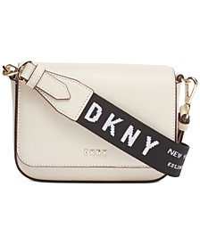 Anna Flap Leather Crossbody, Created for Macy's