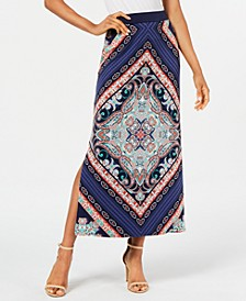 Printed Column Skirt, Created for Macy's
