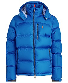 Polo Ralph Lauren Men's El Cap Hooded Down Jacket
