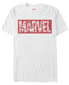 Marvel Men's Comic Collection Kawaii Marvel Men's Logo Short Sleeve T-Shirt