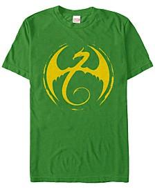 Marvel Men's Iron Fist Dragon Crest Short Sleeve T-Shirt