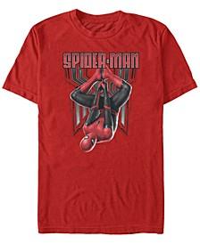 Men's Spider-Man Far From Home Spider-Man Hanging Around Short Sleeve T-Shirt